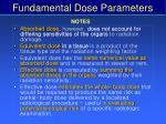 fundamental dose parameters9