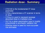 radiation dose summary59