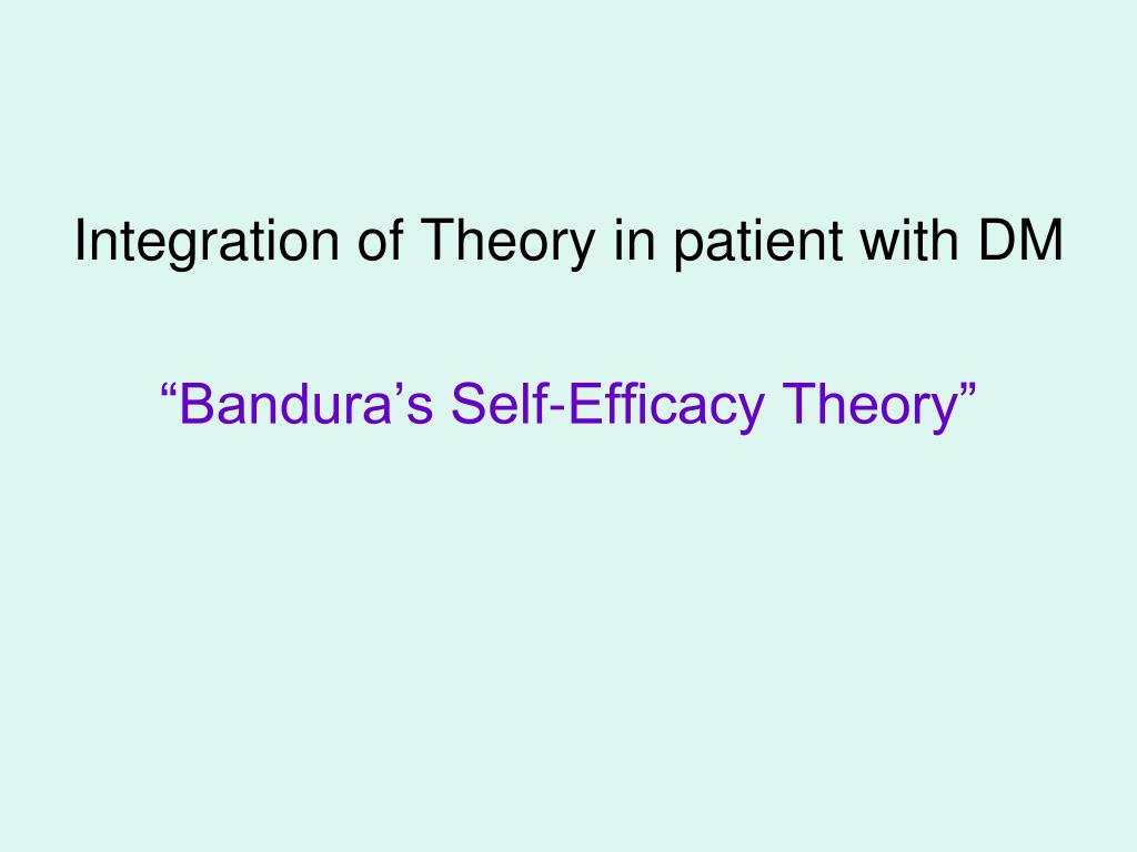 Integration of Theory in patient with DM