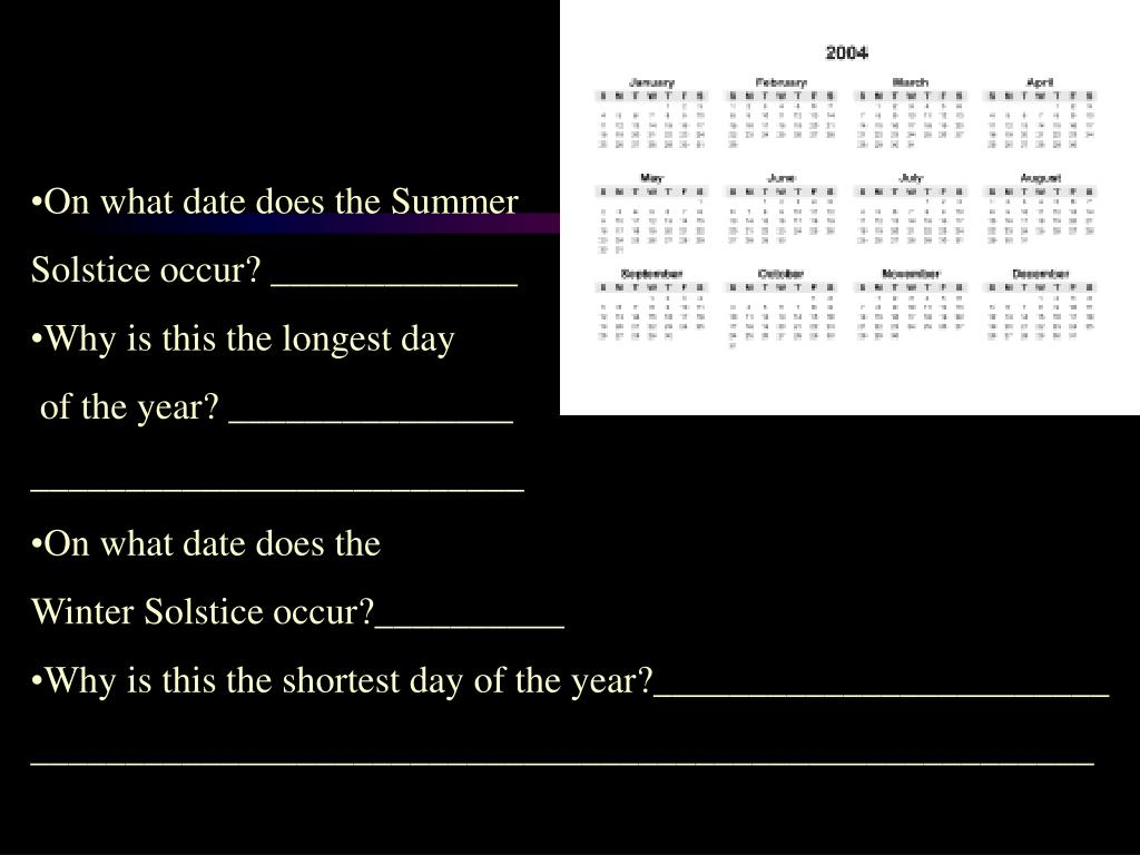 On what date does the Summer