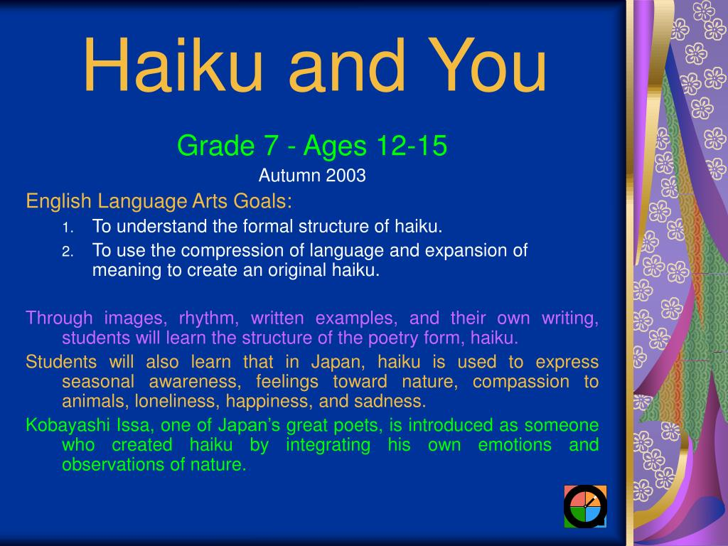 haiku and you l.