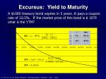 excursus yield to maturity12