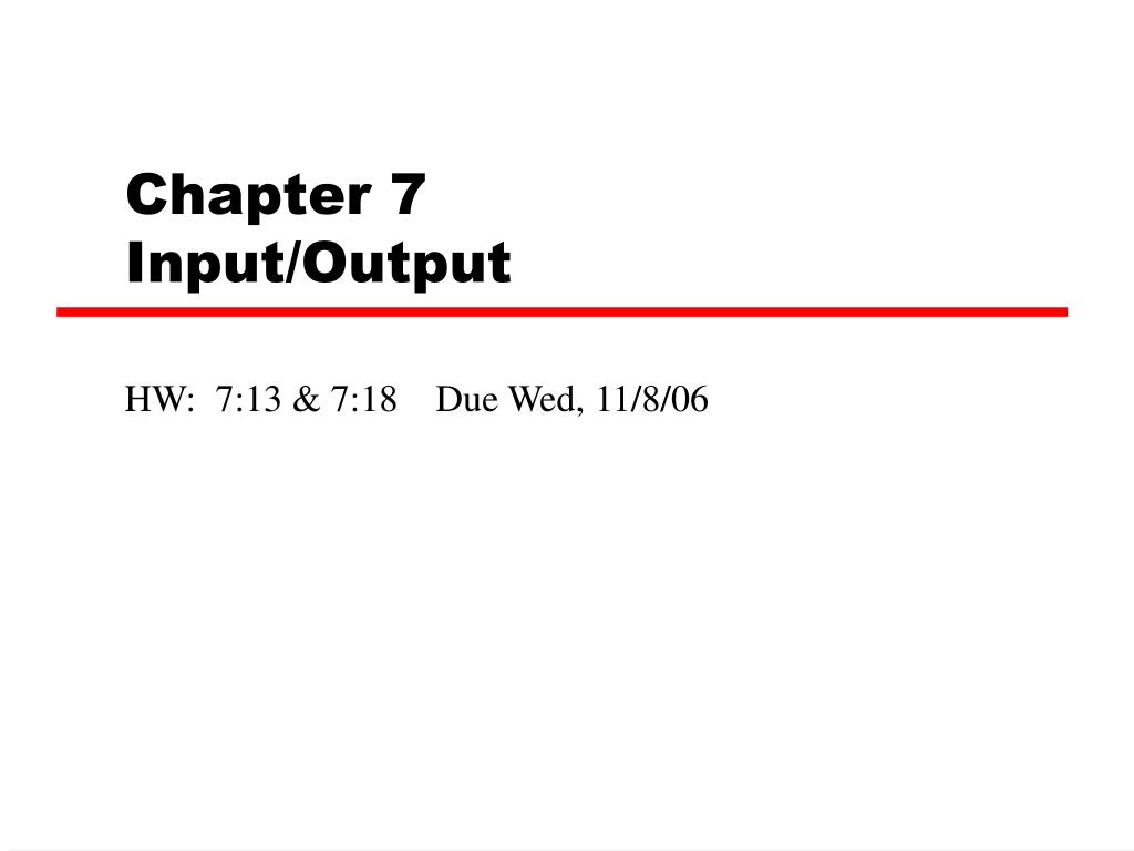 chapter 7 input output l.