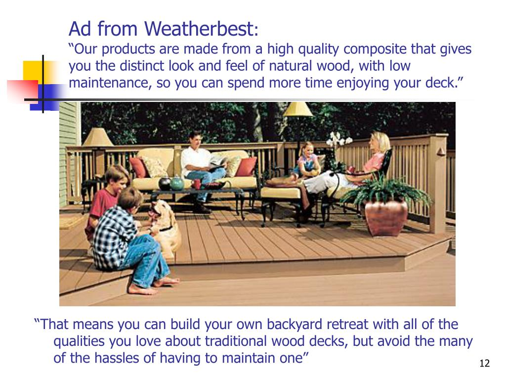 Ad from Weatherbest