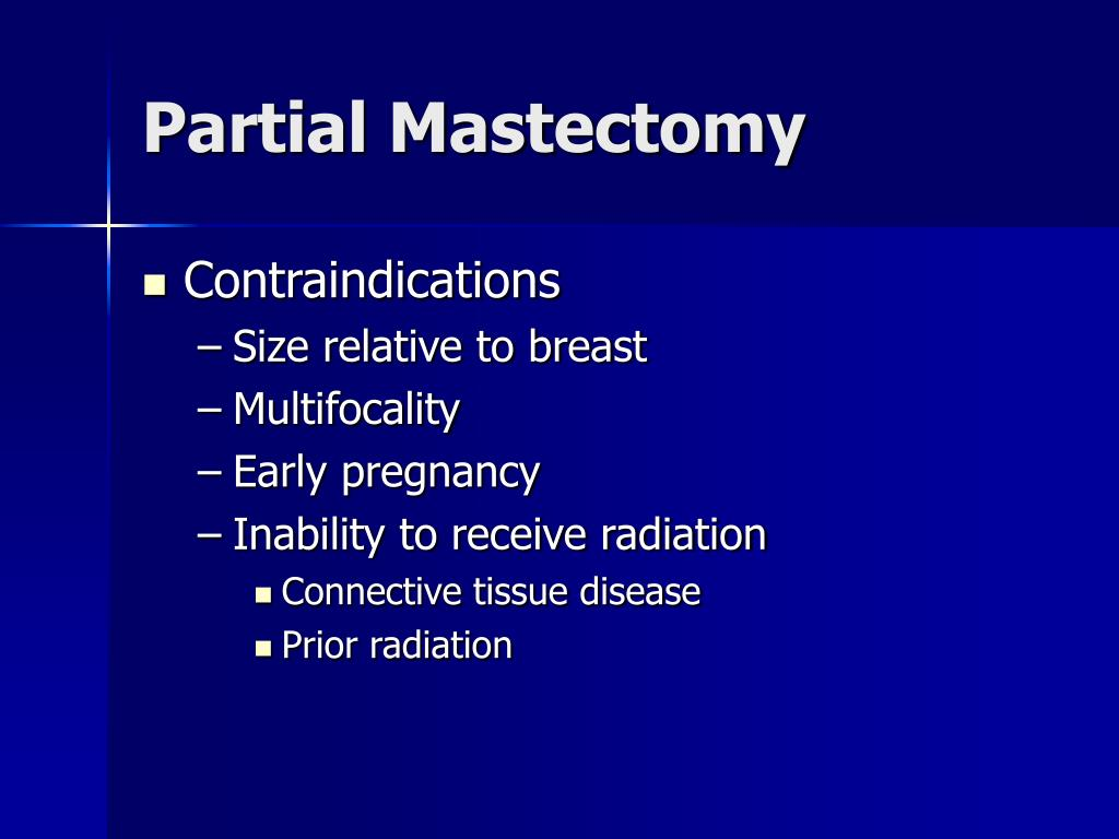 Partial Mastectomy