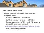 fha new construction