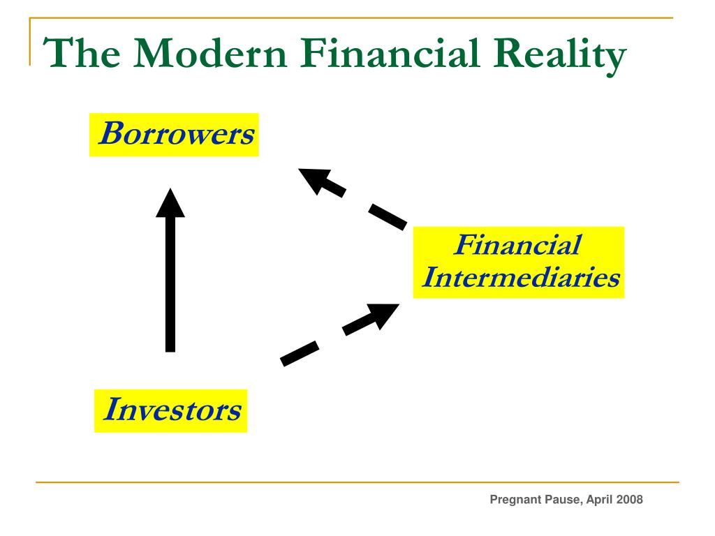 The Modern Financial Reality