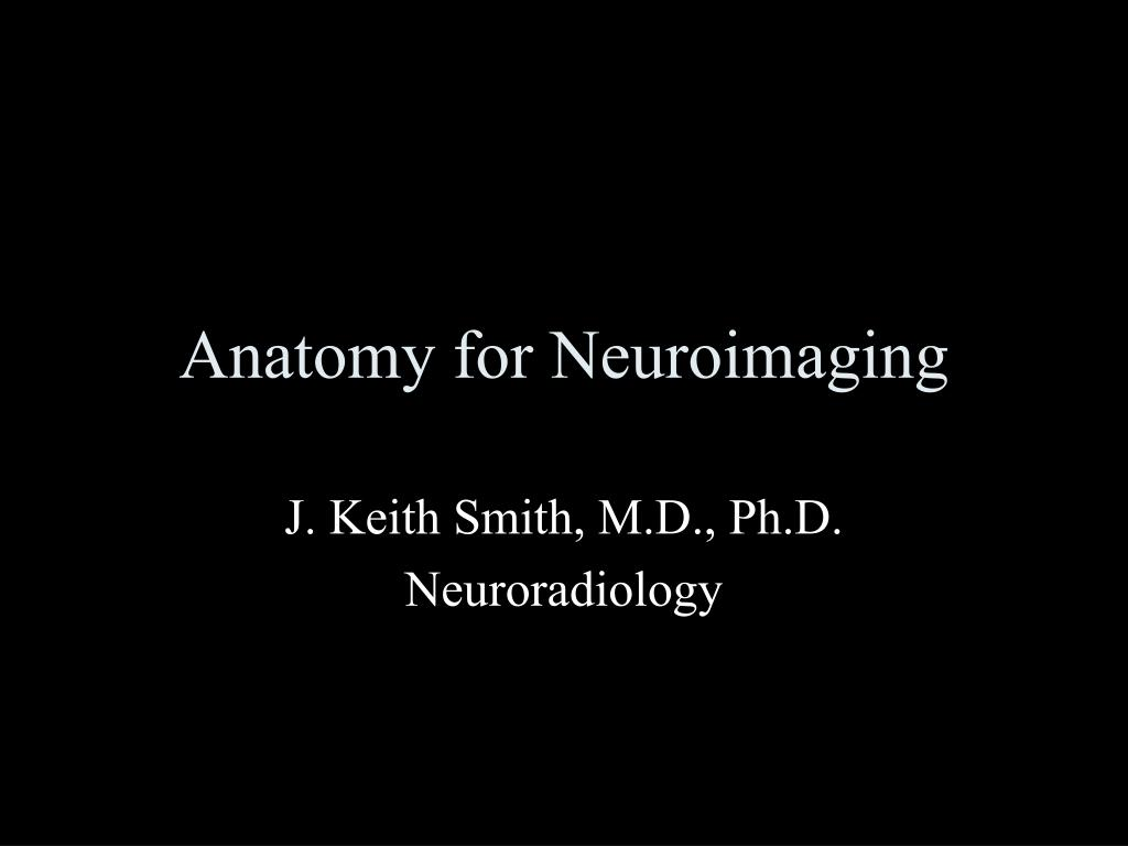 PPT - Anatomy for Neuroimaging PowerPoint Presentation - ID:276540