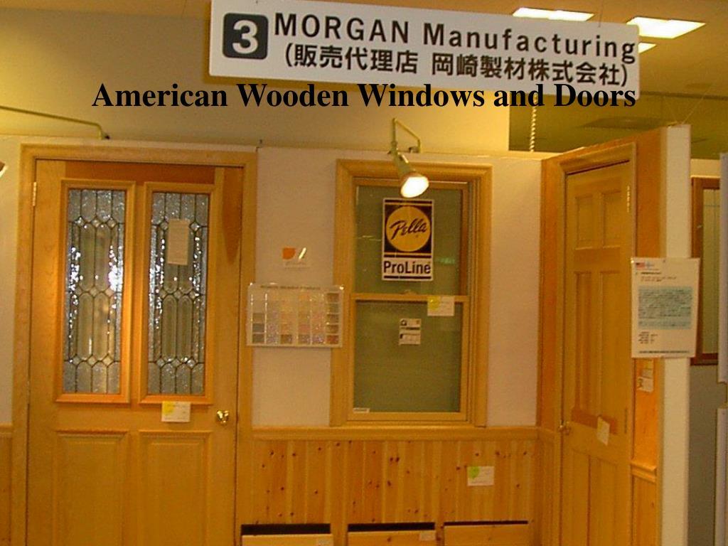 American Wooden Windows and Doors