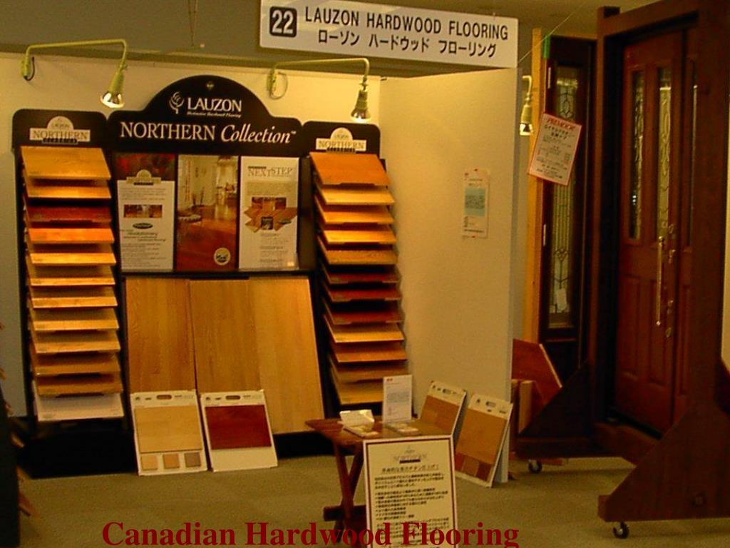 Canadian Hardwood Flooring