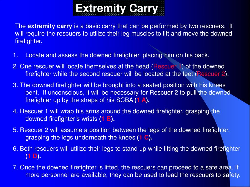 Extremity Carry