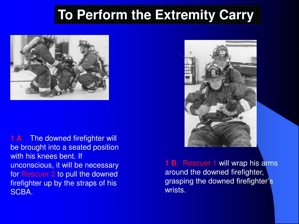 To Perform the Extremity Carry