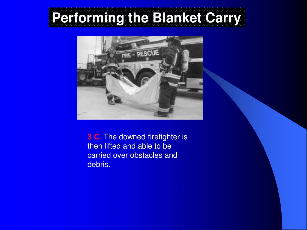 Performing the Blanket Carry