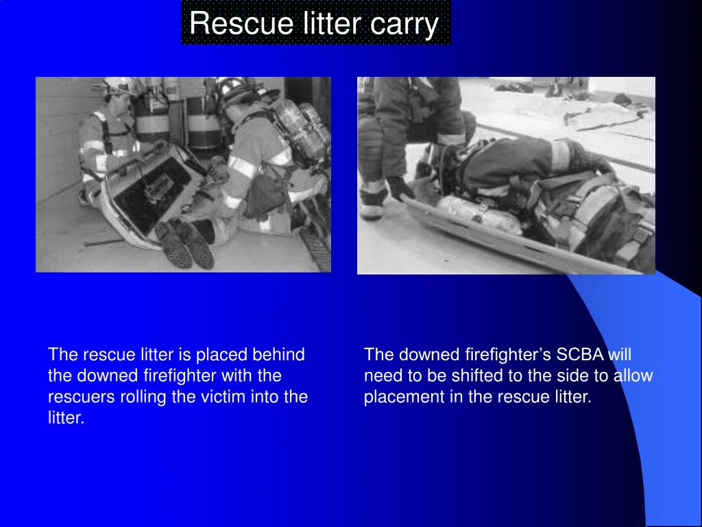 Rescue litter carry