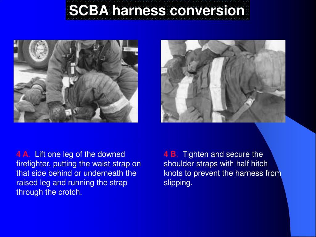 SCBA harness conversion