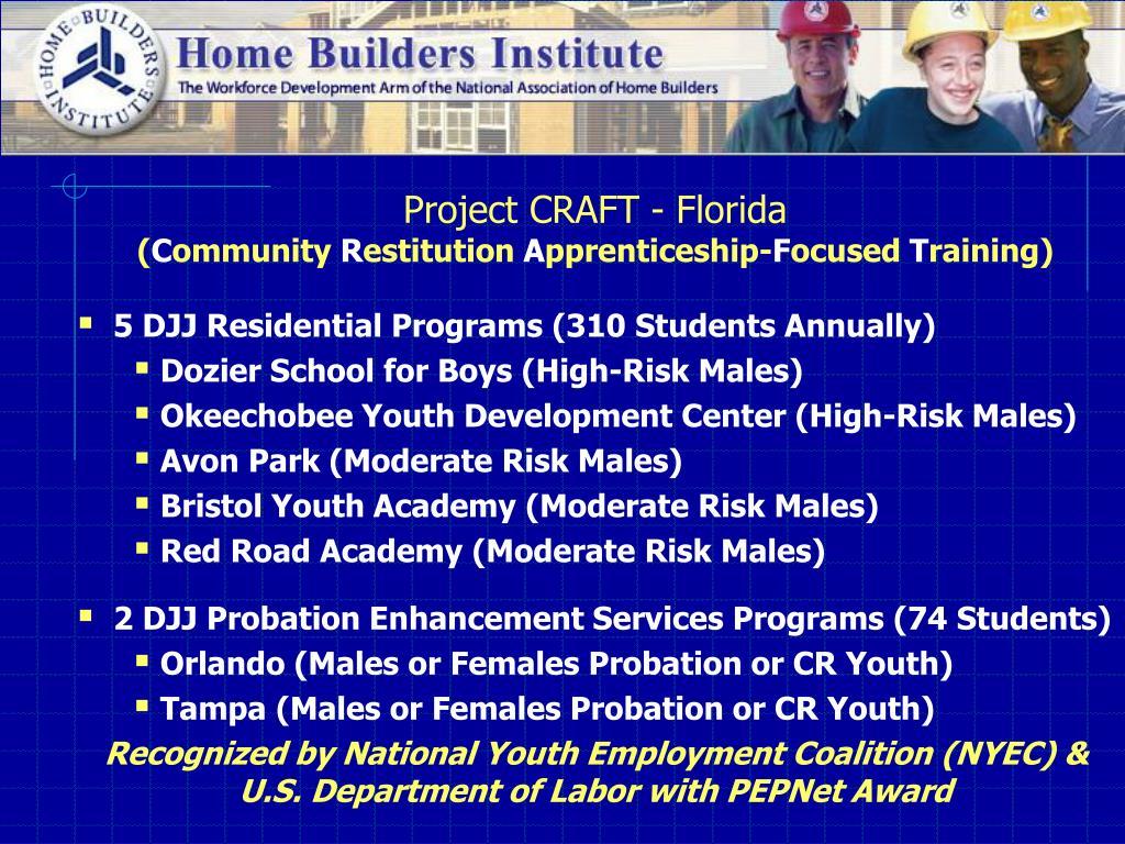 Project CRAFT - Florida