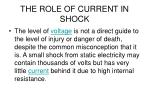 the role of current in shock