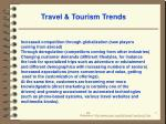 travel tourism trends