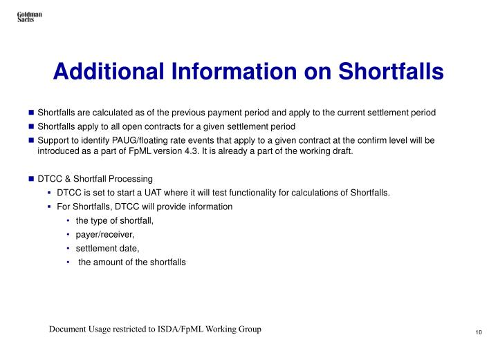 Mortgage Shortfall Definition