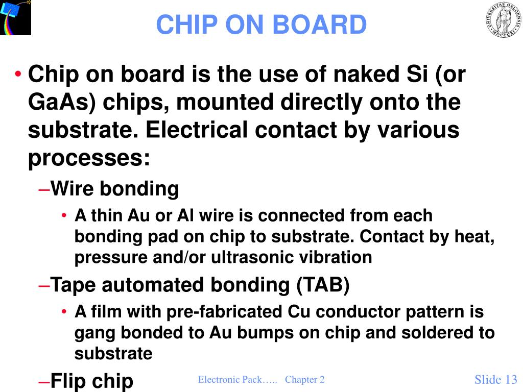CHIP ON BOARD