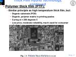 thick film hybrid technology continued17