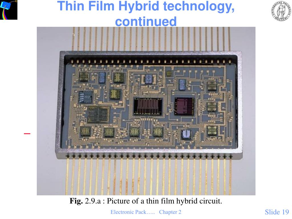 Thin Film Hybrid technology, continued