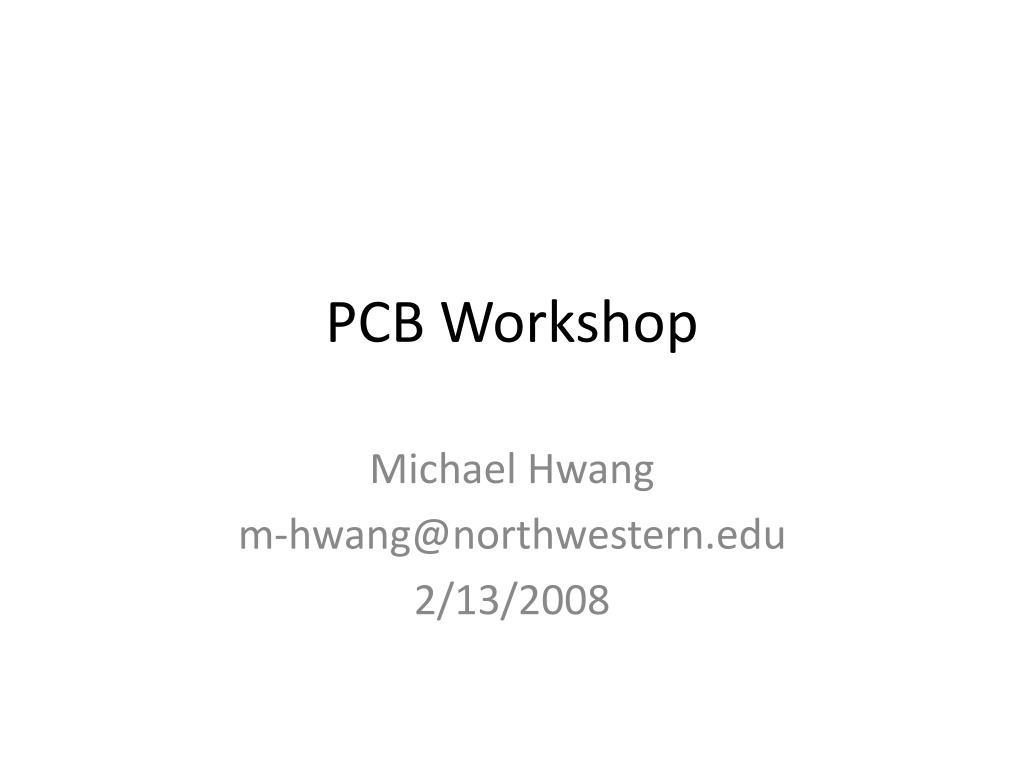 pcb workshop l.