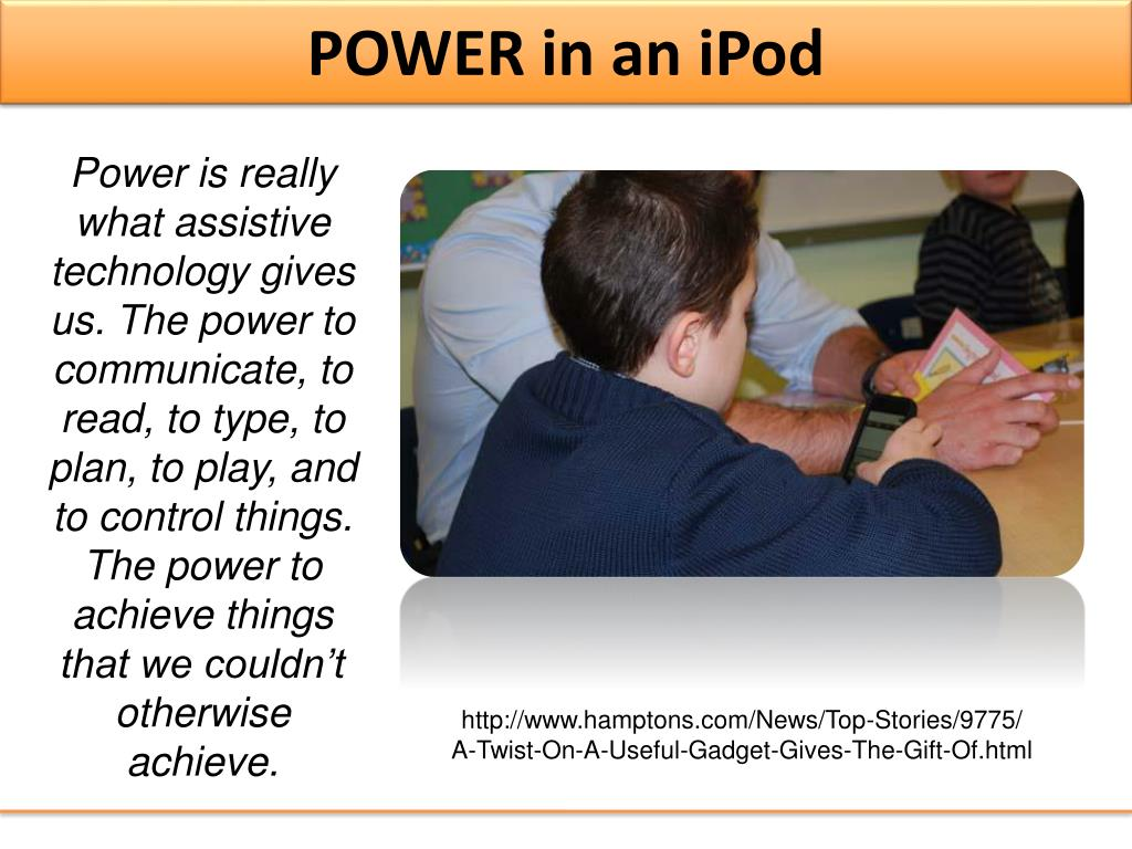 POWER in an iPod