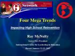 four mega trends2