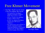 free khmer movement