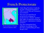 french protectorate