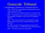 genocide tribunal
