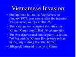 vietnamese invasion