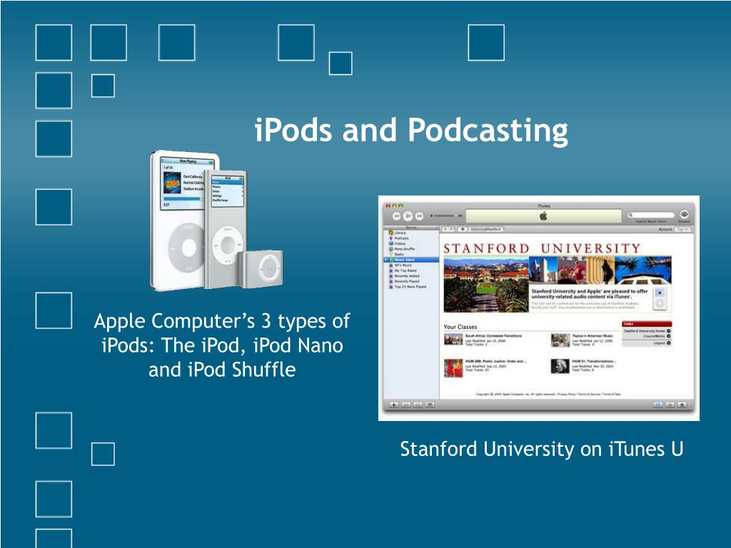 iPods and Podcasting