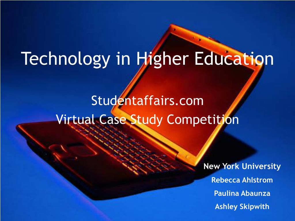 PPT - Technology in Higher Education PowerPoint Presentation, free download  - ID:27712