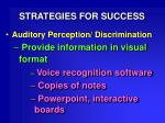 strategies for success31