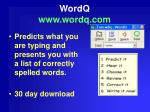 wordq www wordq com