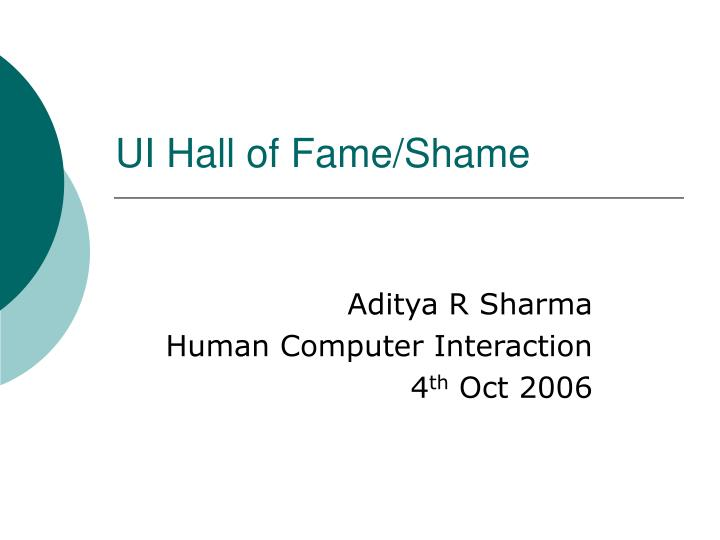 ui hall of fame shame