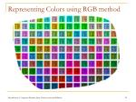 representing colors using rgb method
