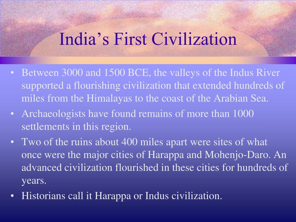 an overview of the indus valley civilization between 3000 1500 bce