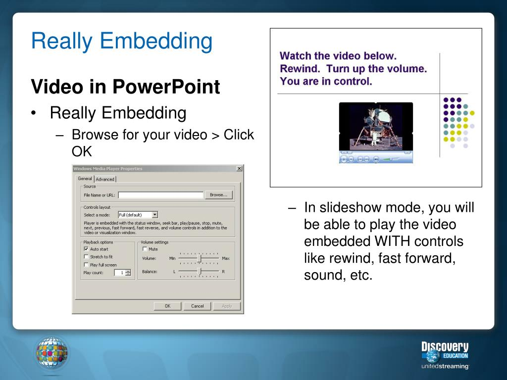 Video in PowerPoint