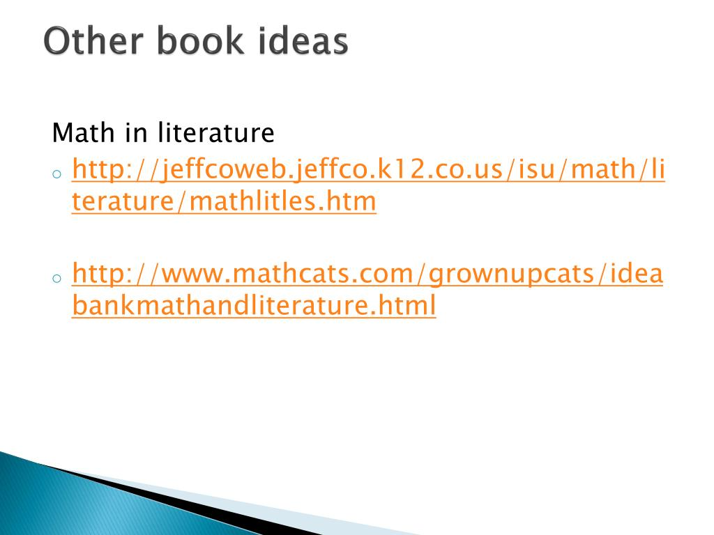 Other book ideas