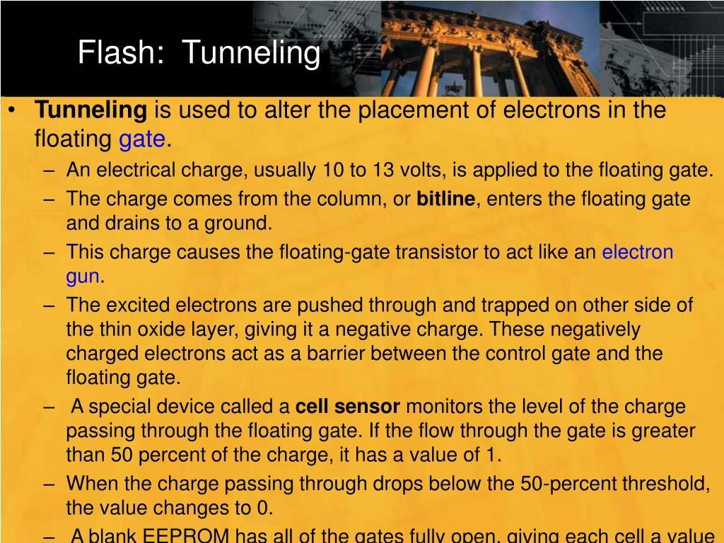 Flash:  Tunneling