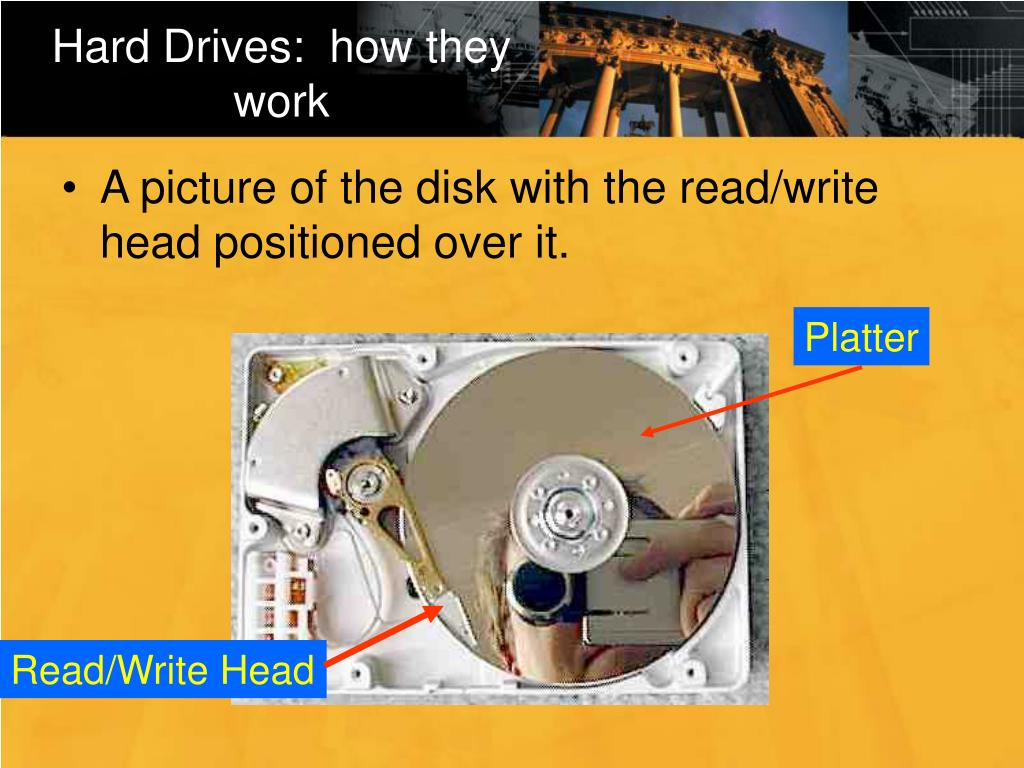 Hard Drives:  how they work