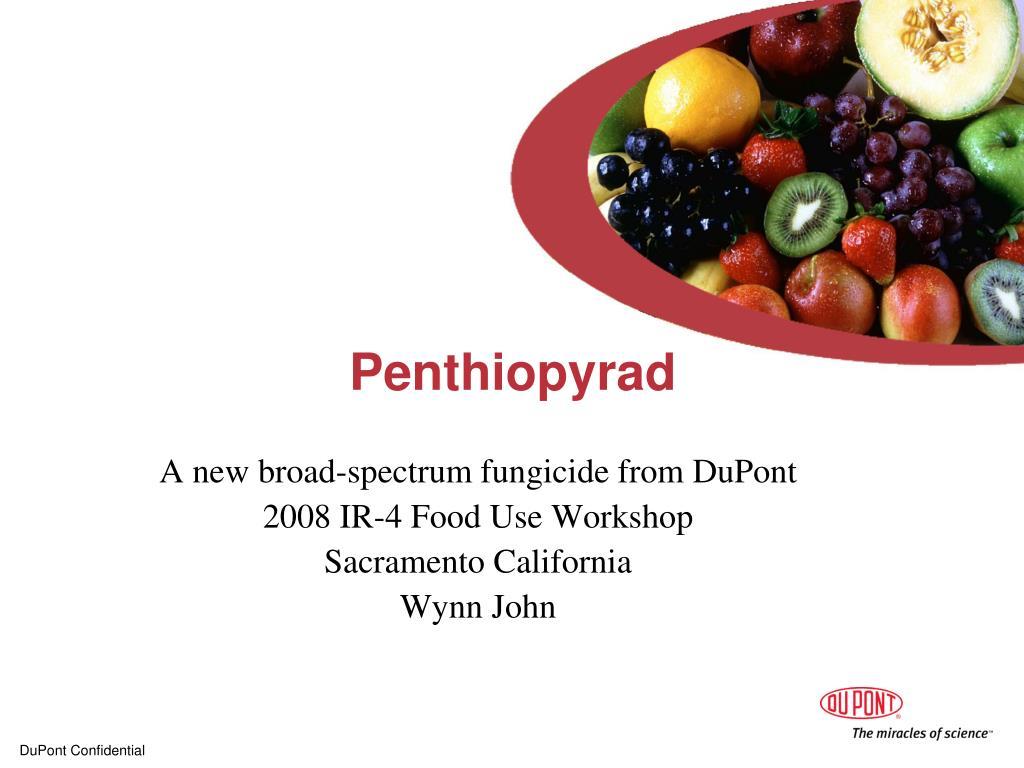 penthiopyrad l.