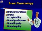 brand terminology