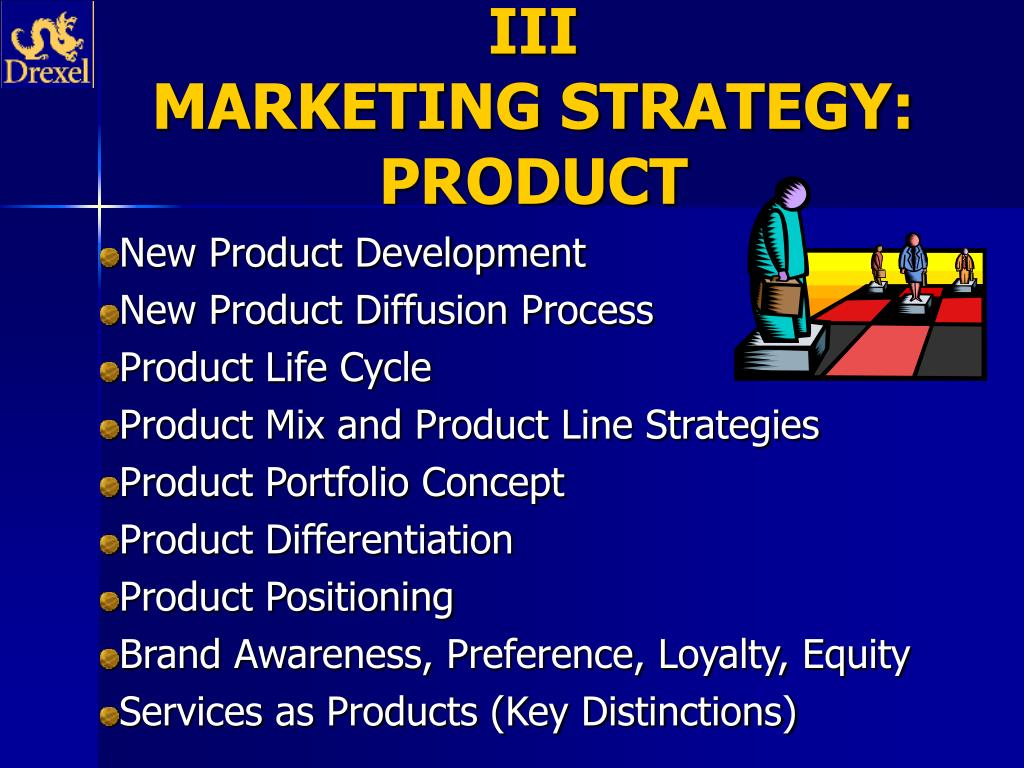 iii marketing strategy product l.