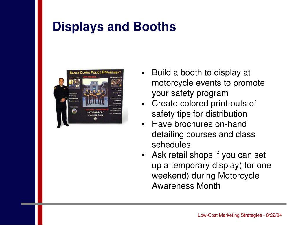 Displays and Booths