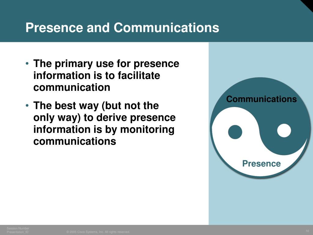 Presence and Communications