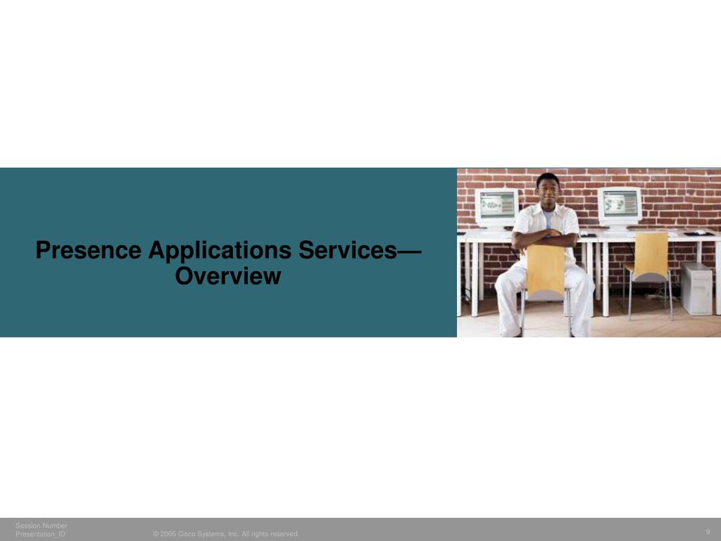 Presence Applications Services—Overview